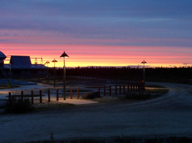 Fort Albany Sunset 2